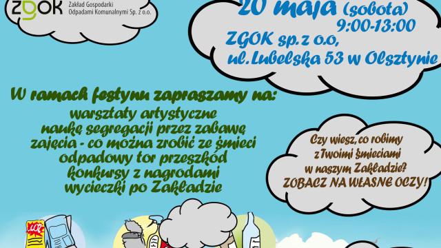 Festyn- Drugie życie naszych śmieci wolsztyńskim ZUOK