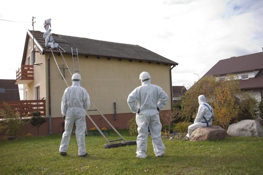 Wlatach 2011-2016 zWarmii iMazur usunięto ponad 20 tysięcy ton azbestu