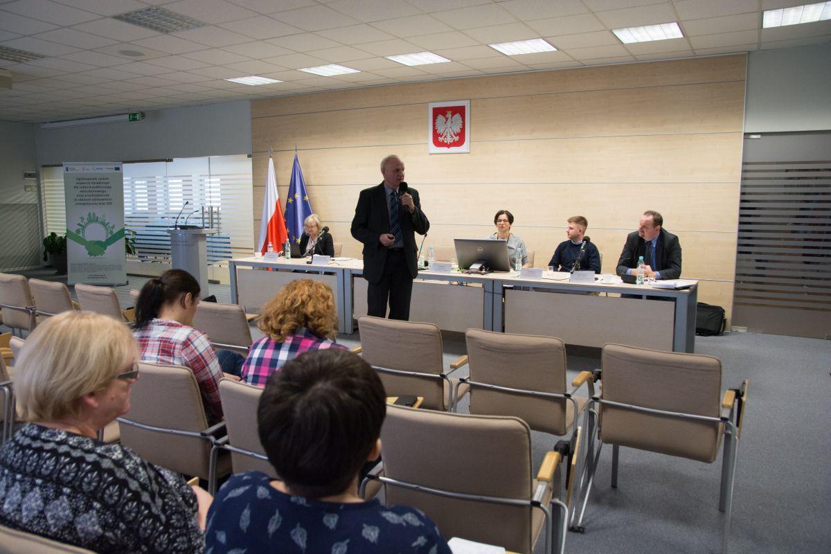 Szkolenie energetyczne wWarmińsko-Mazurskim Urzędzie Wojewódzkim wOlsztynie