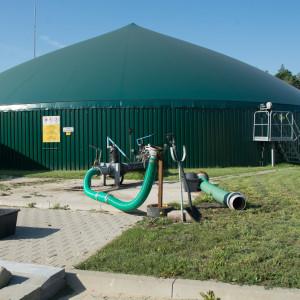 Biogazownia rolnicza wZajdach omocy 1,063 MW tojeden zelementów oleckiego klastra Fot.Grzegorz Siemieniuk
