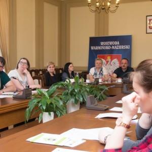 Szkolenie dla pracowników socjalnych zpowiatów elbląskiego idziałdowskiego