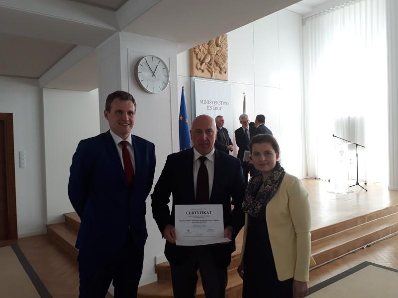 Klastry zWarmii iMazur wyróżnione wkonkursie Ministerstwa Energetyki