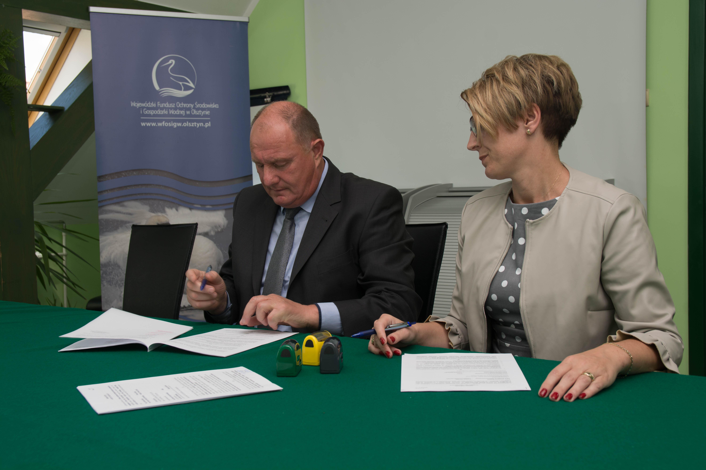 Gmina Szczytno inwestuje wgospodarkę wodno-ściekową