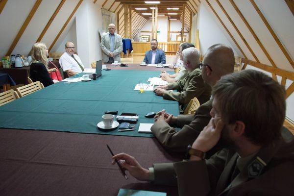 Spotkanie zdyrektorami parków krajobrazowych zWarmii iMazur