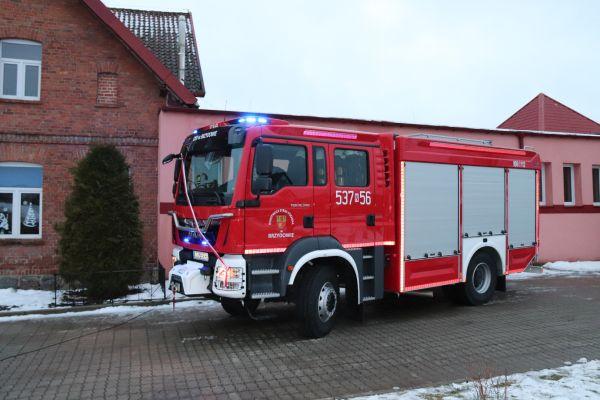 OSP Brzydowo ma nowy samochód ratowniczo-gaśniczy