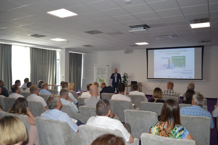 Konferencja dotycząca wsparcia wprocesie modernizacji energetycznej