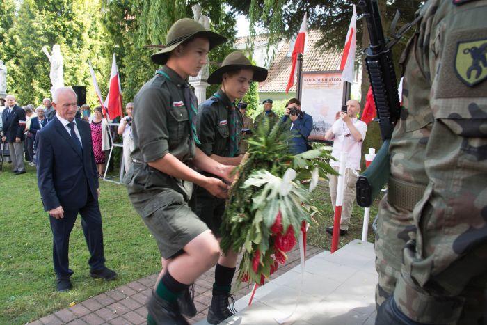 WZielonce Pasłęckiej odbyły się obchody Dnia Walki iMęczeństwa Wsi Polskiej