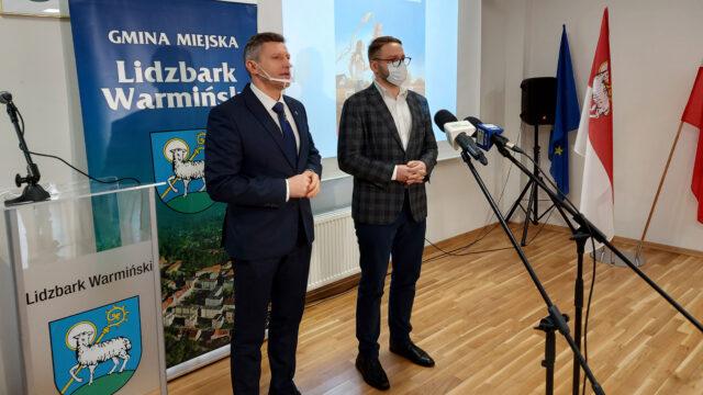 """Pełnomocnik premiera ds.programu """"Czyste Powietrze"""" odwiedził Lidzbark Warmiński"""
