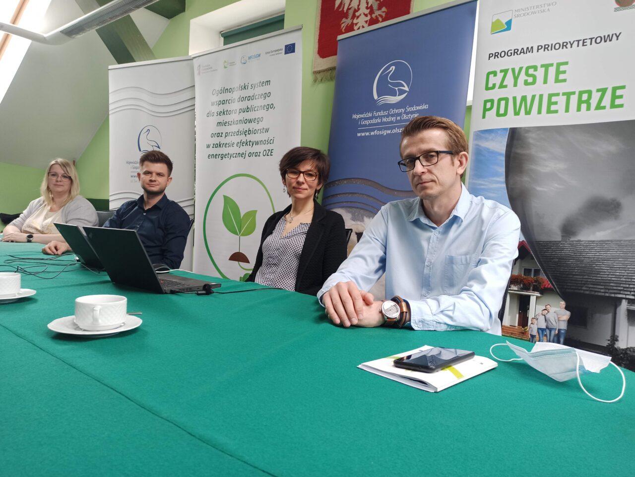 """""""Czyste Powietrze"""" – pierwsze szkolenie dla przedstawicieli gmin"""