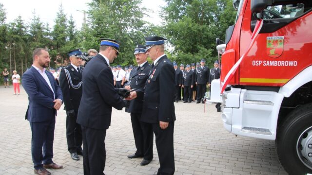 Nowa jakość wOchotniczej Straży Pożarnej wSamborowie