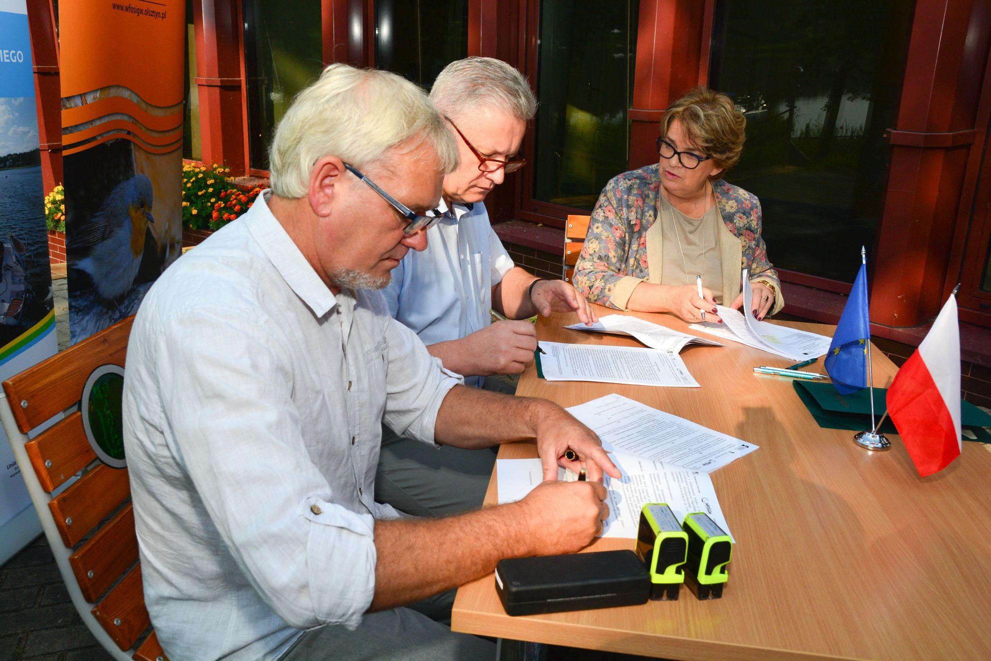 Pierwsza umowa wramach RPO WiM