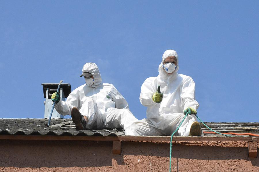 55 samorządów otrzymało dotację nausuwanie azbestu