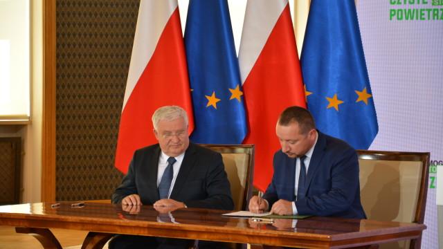 Porozumienie narzecz poprawy jakości powietrza wPolsce – podpisane.