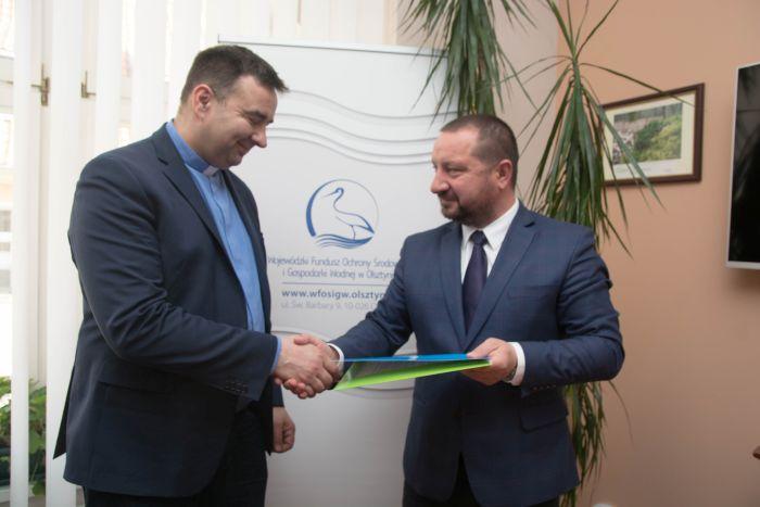 Umowa nadofinansowanie termomodernizacji budynku Wyższego Seminarium Duchownego