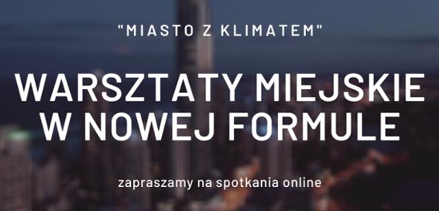 Ministerstwo Klimatu zaprasza nawarsztaty online