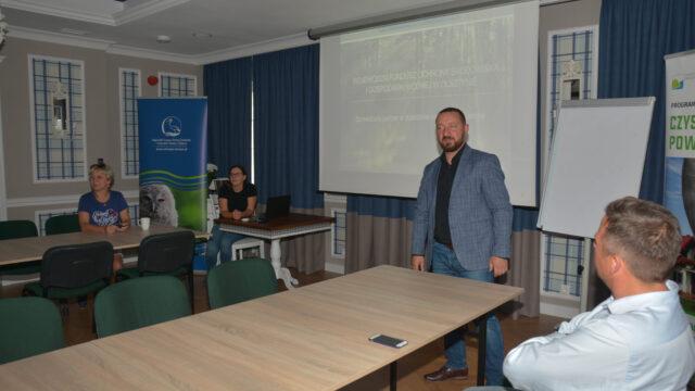 Szkolenie pracowników WFOŚiGW wOlsztynie